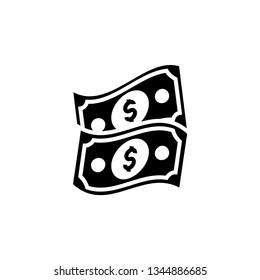 Money Icon Vector Illustration Logo Template