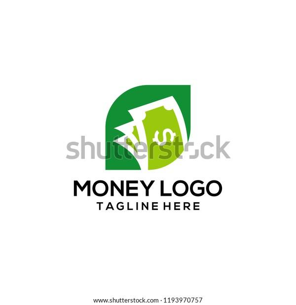 Money Logo Design Money Logo Vector Stock Vector Royalty Free 1193970757