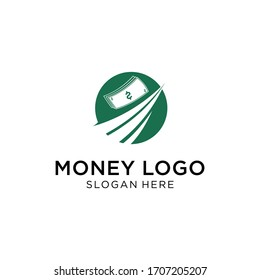 Money logo simple , clean , neat and eleghant.