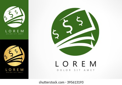 Money logo vector