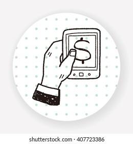 money mobile doodle