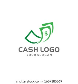 Money Payment Logo Icon With Fast Graphic template designs vector