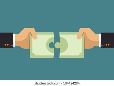 Money puzzle, Business idea