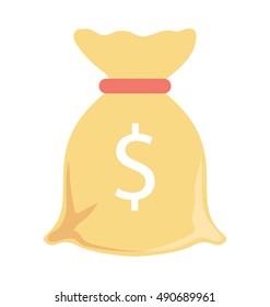 Money Sack Vector Icon