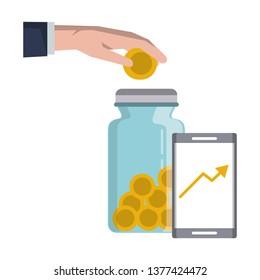 Money saving invesment market bussines