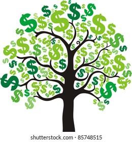 money tree images stock photos vectors shutterstock rh shutterstock com Money Bag Clip Art People with Money Clip Art