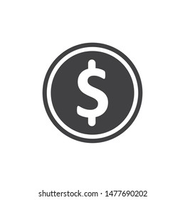 Money vector icon illustration design