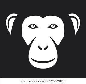 monkey (ape) head