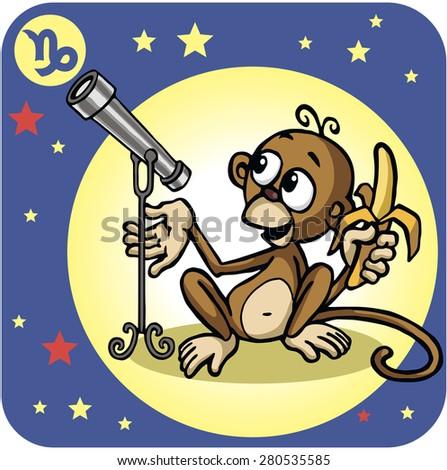 Capricorn monkey