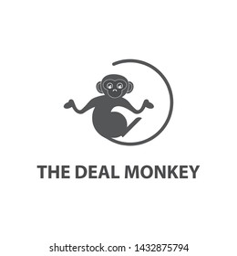 Monkey Geek Logo design