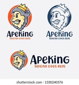 Monkey King Cartoon Logo
