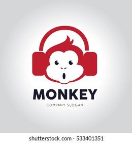 monkey logo 画像 写真素材 ベクター画像 shutterstock