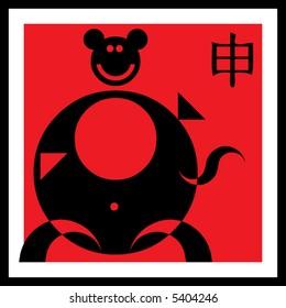 monkey, sign of the oriental calendar