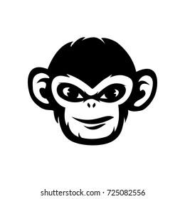 Monkey vector illustration, design template