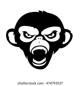 Angry Monkey Images Stock Photos Vectors Shutterstock