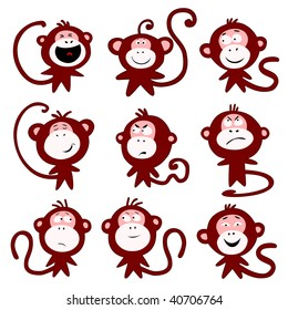 Monkeys emotions