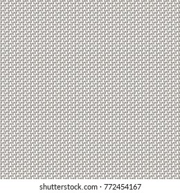 Monochrome background with fine geometric pattern. Abstract canvas texture. Vector design.