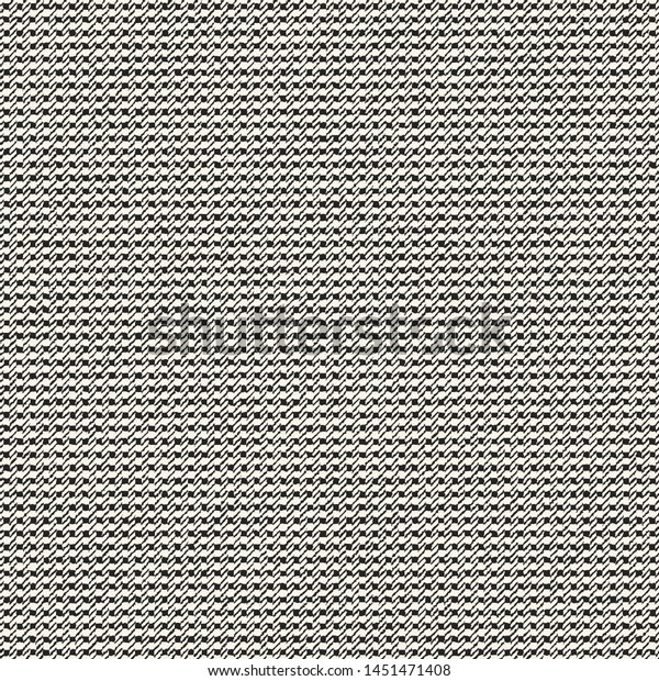 Monochrome Microchecked Textured Background Seamless Pattern ...