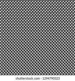 Monochrome pattern with sinuous vertical stripes. Textile fabric. Upholstery. Vector illustration.
