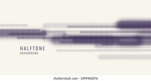 Monochrome printing raster. Abstract vector halftone background. monochrome texture of dots.