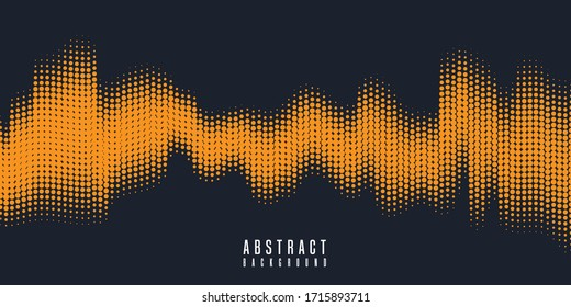 Monochrome printing raster. Abstract vector halftone background. Vector dots texture background. vector Illustration