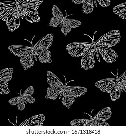 Black And White Butterfly Wallpaper Images Stock Photos Vectors Shutterstock