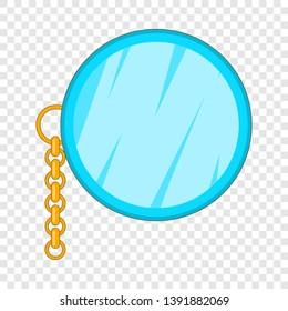 Monocle icon. Cartoon illustration of monocle vector icon for web design