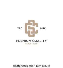 Monogram CS SC logo design inspiration