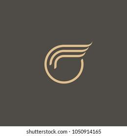 Monogram design elements, graceful template. Calligraphic elegant line art logo design. Letter M vector logo.