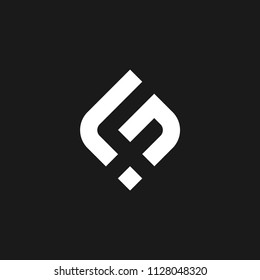 Monogram FS / Initial SF logo design inspiration