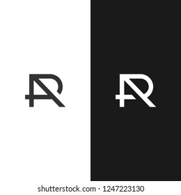 Monogram / Initial AP, AR, RT logo design inspiration