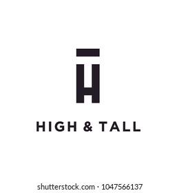 Monogram / Initial HT logo design inspiration