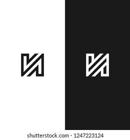 Monogram / Initial N, NV, V logo design inspiration