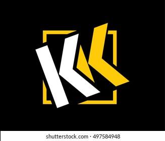 monogram kk logo
