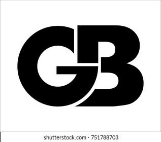 monogram logo g b