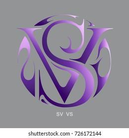Monogram S&V, V&S