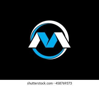 monogram vm logo