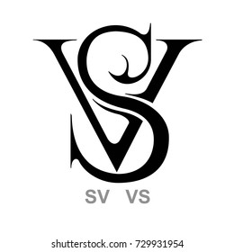 Monogram V&S, S&V