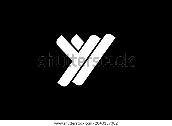 MONOGRAPH LETTER Y LOGO , SUITABLE FOR BUSINESSES THAT NEED YY INITIAL LOGO