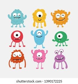 Monster Character Collection - Vector