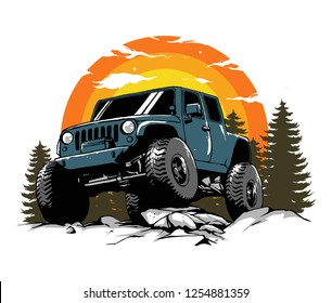 monster offroad art