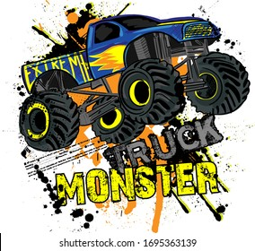 Monster Truck Images Stock Photos Vectors Shutterstock
