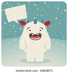 Monster under the snow n.1
