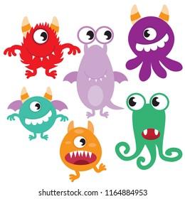 Monster vector clip art