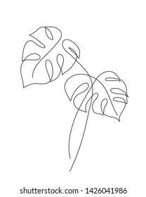 Tropical Leaf Pen Drawing Images Stock Photos Vectors Shutterstock