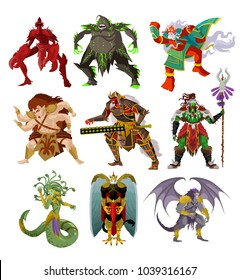 monsters creatures collection