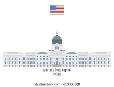 Montana State Capitol in Helena, United States of America