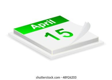 the month april