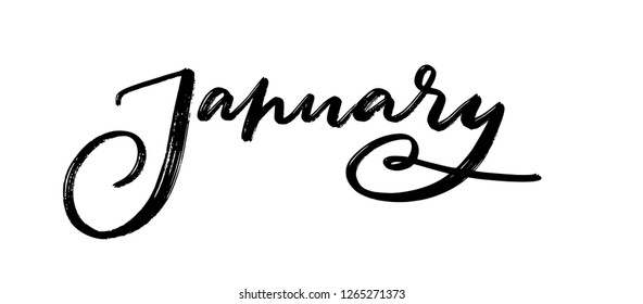 Hand Lettering January Png – Check out our hand lettering png selection for the very best in unique or custom, handmade pieces from our art & collectibles shops.