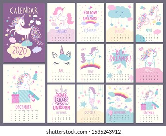 Unicorn Calendar 2022.Unicorn Calendar High Res Stock Images Shutterstock